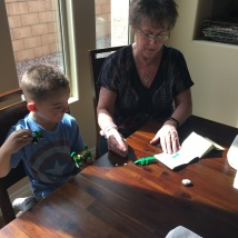 building Legos from Italy with Grammy